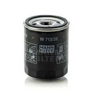 MANN-FILTER W713/28 Фильтр масляный (пр-во MANN)