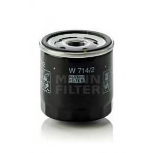 MANN-FILTER W714/2 Фильтр масляный (пр-во MANN)