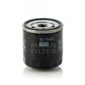 Масляный фильтр w7143 mann - ALFA ROMEO 155 (167) седан 2.5 V6 (167.A1C, 167.A1E)