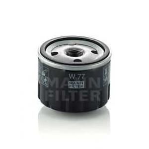Масляный фильтр w77 mann - RENAULT 4 (112_) универсал 0.8 (1123)
