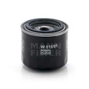 MANN-FILTER W811/81 Фильтр масляный (пр-во MANN)