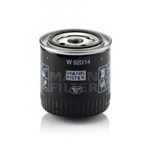 MANN-FILTER W920/14 Фильтр масляный (пр-во MANN)