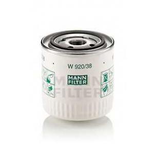 Масляный фильтр w92038 mann - VOLVO 460 L (464) седан 1.9 Turbo-Diesel