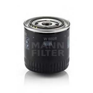 Масляный фильтр w9206 mann - CHRYSLER LE BARON седан 2.2 i