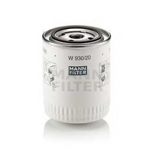 MANN-FILTER W930/20 Фильтр масляный (пр-во MANN)