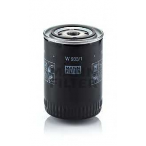 MANN-FILTER W933/1 Фильтр масляный (пр-во MANN)