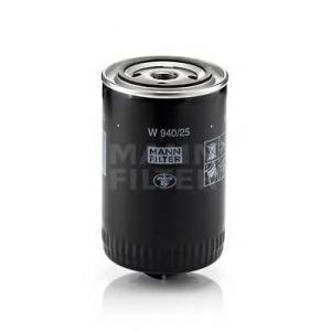MANN-FILTER W940/25 Фильтр масляный (пр-во MANN)