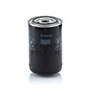 MANN-FILTER W940/62 Фильтр масляный FIAT (пр-во MANN)