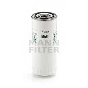 MANN W 962/8 Фильтр масляный MANN