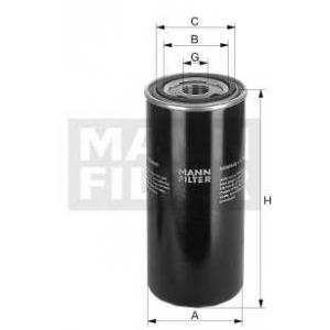 Гидрофильтр, автоматическая коробка передач wd9502 mann -