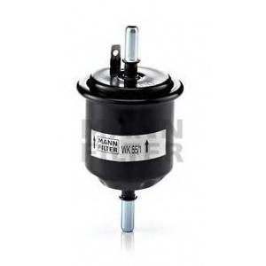 Топливный фильтр wk551 mann - HYUNDAI ACCENT II (LC) Наклонная задняя часть 1.3