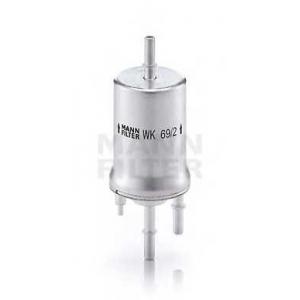 MANN-FILTER WK69/2 Фильтр топл. AUDI A3 (пр-во MANN)