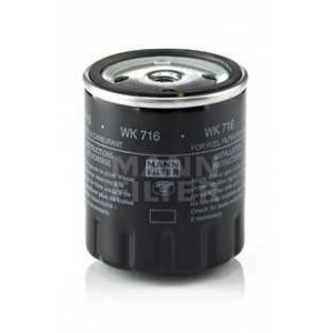 Топливный фильтр wk716 mann - MERCEDES-BENZ седан (W123) седан 200 D (123.120)