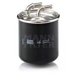 MANN-FILTER WK820/2X Фильтр топл. (пр-во MANN)