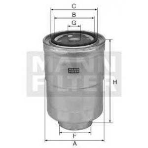 MANN WK 828X Фильтр топливный MANN