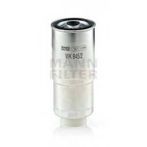 Топливный фильтр wk8452 mann - AUDI 100 (44, 44Q, C3) седан 2.5 TDI