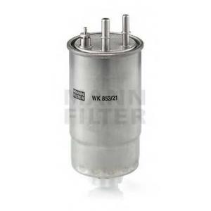 MANN-FILTER WK853/21 Фильтр топливный (пр-во MANN)