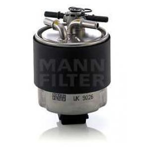 Топливный фильтр wk9026 mann - NISSAN QASHQAI / QASHQAI +2 (J10, JJ10) вездеход закрытый 1.5 dCi