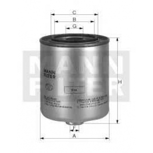 MANN WK 940/6 X Фильтр топливный