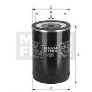 MANN WK 950/3 Фильтр топливный низкого давления CATERPILLAR, KOMATSU, SAME, MB