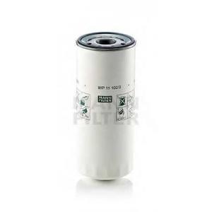 MANN WP 11 102/3 Фильтр масляный VOLVO F/FH/ FL/FM, RVI Magnum, Premium