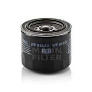 Масляный фильтр wp91480 mann - TOYOTA STARLET (_P7_) Наклонная задняя часть 1.5 D (NP70L)