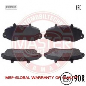 MASTER SPORT 13-0460-3946-2-N-SET-MS Тормозные колодки передние Master/Movano 15\ 97->01
