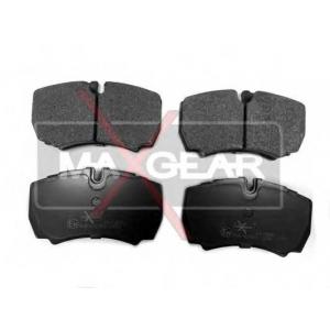 Комплект тормозных колодок, дисковый тормоз 190486 maxgear - IVECO DAILY III c бортовой платформой/ходовая часть c бортовой платформой/ходовая часть 29 L 9
