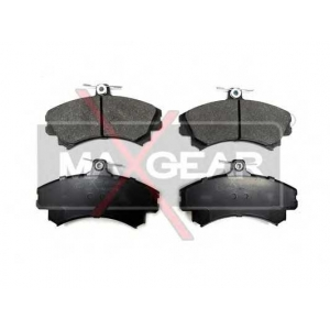 MAXGEAR 190550 Комплект тормозных колодок, дисковый тормоз