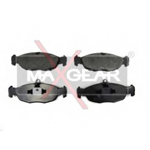 MAXGEAR 19-0592 Комплект тормозных колодок, дисковый тормоз Ягуар