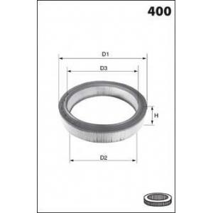 MECAFILTER EL1675 Air filter