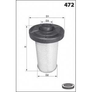 MECAFILTER EL 2213 Фильтр воздушный C25/J5 CRD
