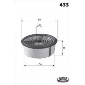 MECAFILTER EL3762 Air filter