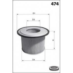 MECAFILTER EL3906 Air filter