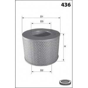 MECAFILTER EL3909 Air filter