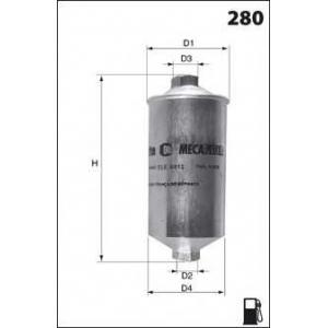 MECAFILTER ELE3571 Fuel filter