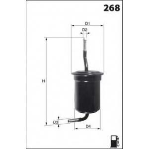 MECAFILTER ELE6009 Fuel filter