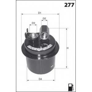 MECAFILTER ELE6023 Fuel filter
