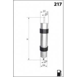 MECAFILTER ELE6026 Fuel filter