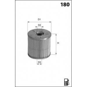 MECAFILTER ELG5285 Fuel filter