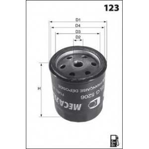 MECAFILTER ELG5525 Fuel filter
