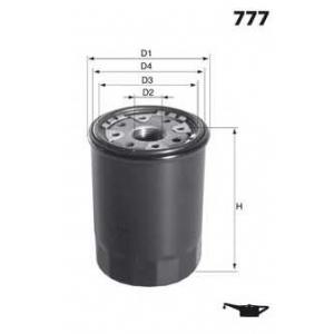 MECAFILTER ELH4254 Spin-on Oil filter