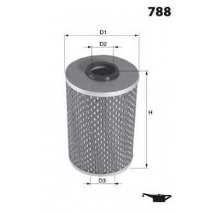 MECAFILTER ELH4721 Spin-on Oil filter