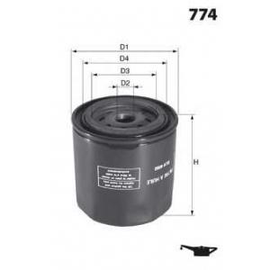 MECAFILTER ELH4754 Spin-on Oil filter