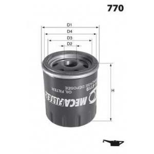 MECAFILTER ELH4766 Spin-on Oil filter