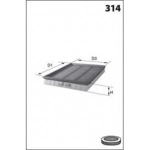 MECAFILTER ELP3517 Air filter