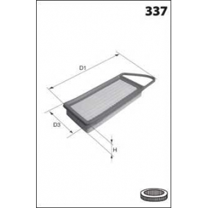 MECAFILTER ELP9207 Air filter