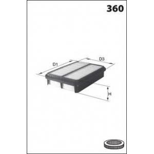 MECAFILTER ELP9264 Air filter