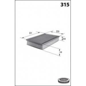 MECAFILTER ELP9299 Air filter