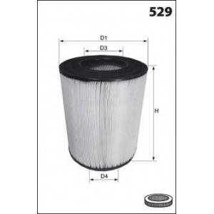 MECAFILTER FA3341 Air filter